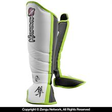 Hayabusa Mirai Series Shin Guards - White